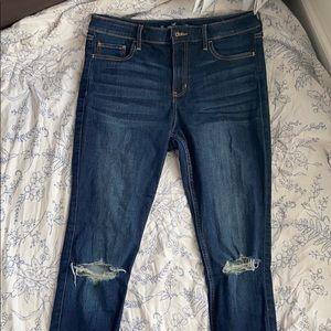 Dark Wash Hollister Skinny Jeans
